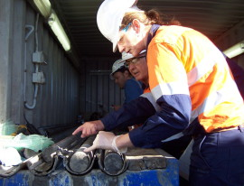 130 metres of core recovered in CO2CRC's latest research operation
