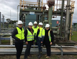 Corangamite councillors visit Otway Research Facility